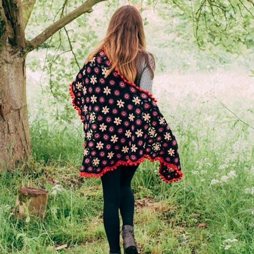 Bohemian Shawl Crochet Pattern