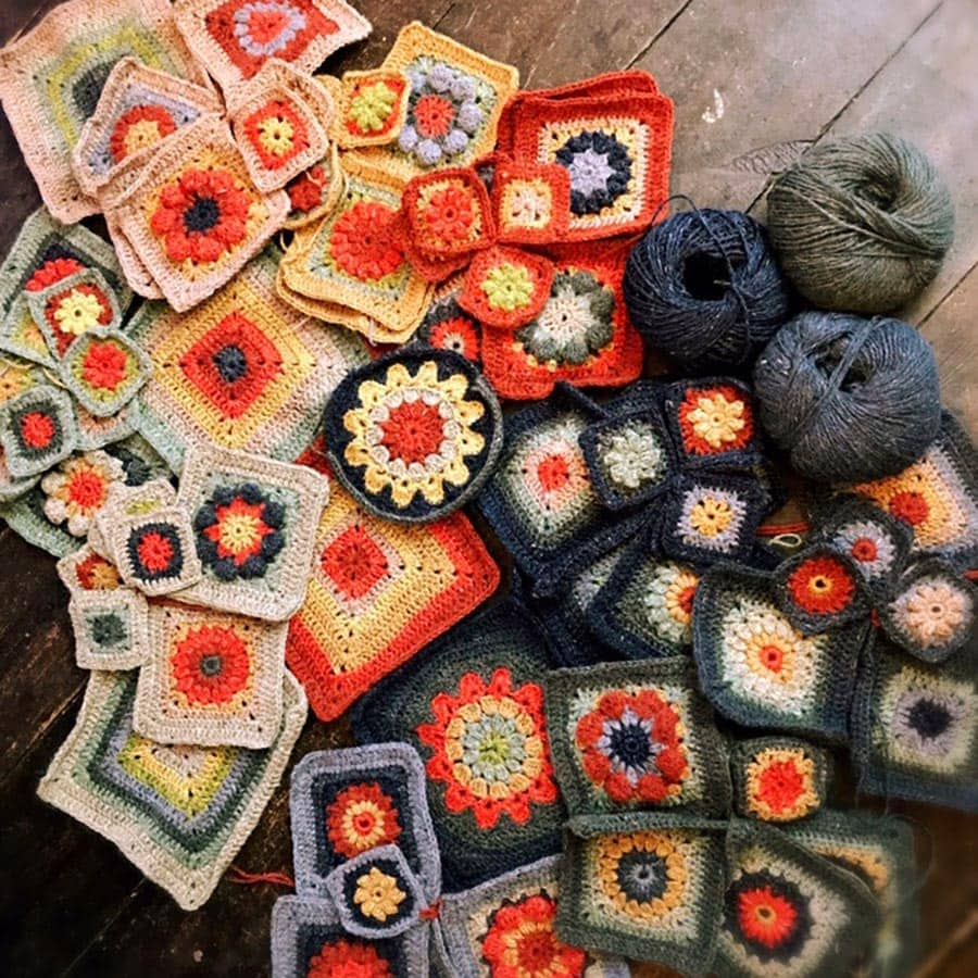 Homage To The Granny Square Online